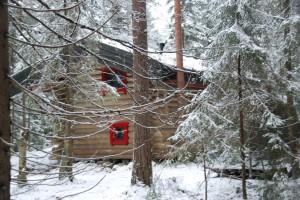 Veslebo på vinteren