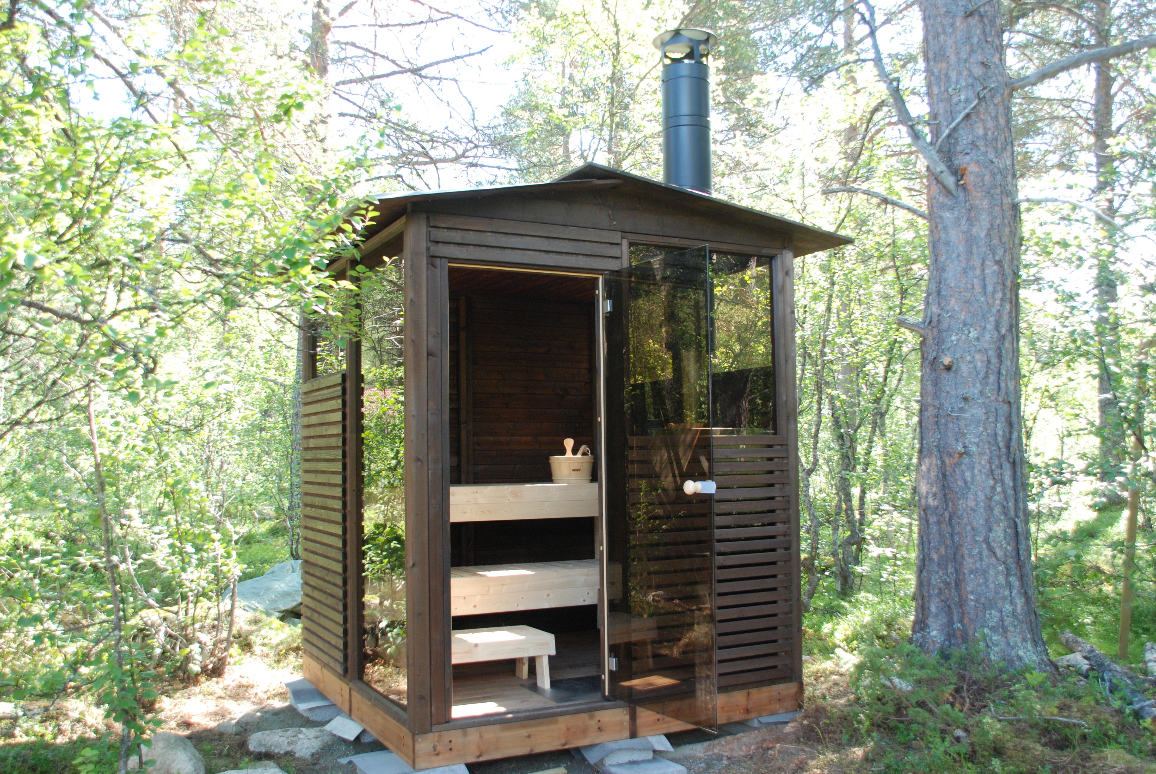 Badstue hytte