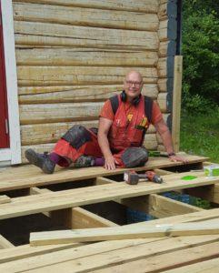 Arbeid med tømmer og treverk liker vi godt