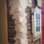 Nye laftknuter formet som tømmer