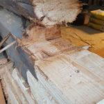 Skjøte treverk og tømmer sammen
