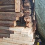Tømmerreparasjon - lime sammenunderveis 1