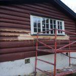 Ferdig reparert med ny vindu