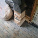 Kuttet og formet som tidligere tømmer
